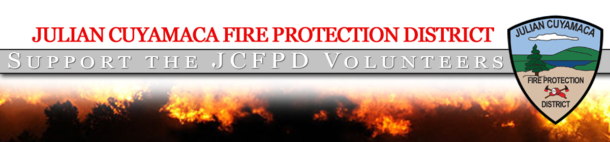 Supporting all the JCFPD Volunteers
